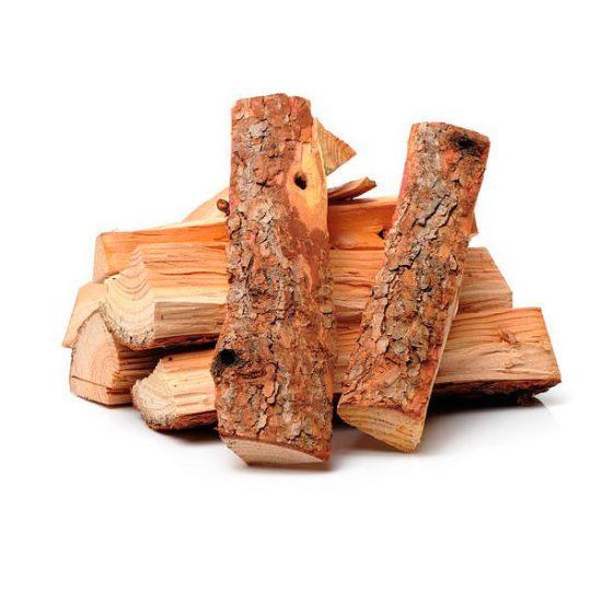 Вязанка хвойных дров